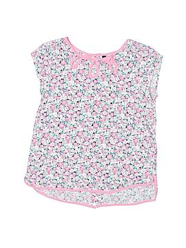 Lili Gaufrette Short Sleeve Blouse Size 8
