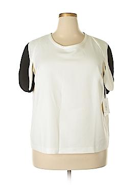 Victoria Beckham for Target Short Sleeve Blouse Size 2X (Plus)