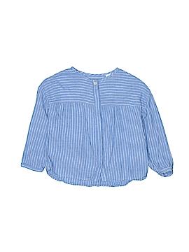 Zara Long Sleeve Button-Down Shirt Size 3 - 4