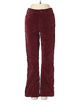 Madewell Velour Pants 25 Waist
