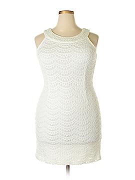 Sandra Darren Casual Dress Size 14 (Petite)