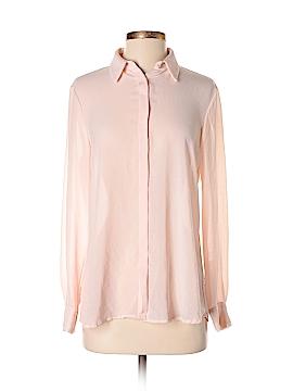 Mango Long Sleeve Blouse Size S