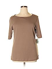 Karen Scott Women Short Sleeve Top Size 0X (Plus)