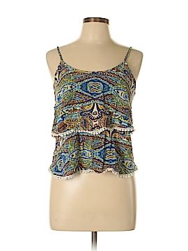 Nabee Short Sleeve Blouse Size L