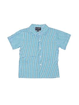 Oscar De La Renta Short Sleeve Button-Down Shirt Size 3