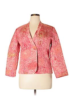 Sigrid Olsen Silk Blazer Size L