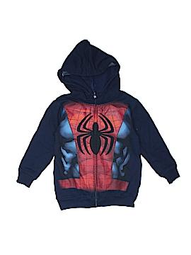 Spiderman Zip Up Hoodie Size 6