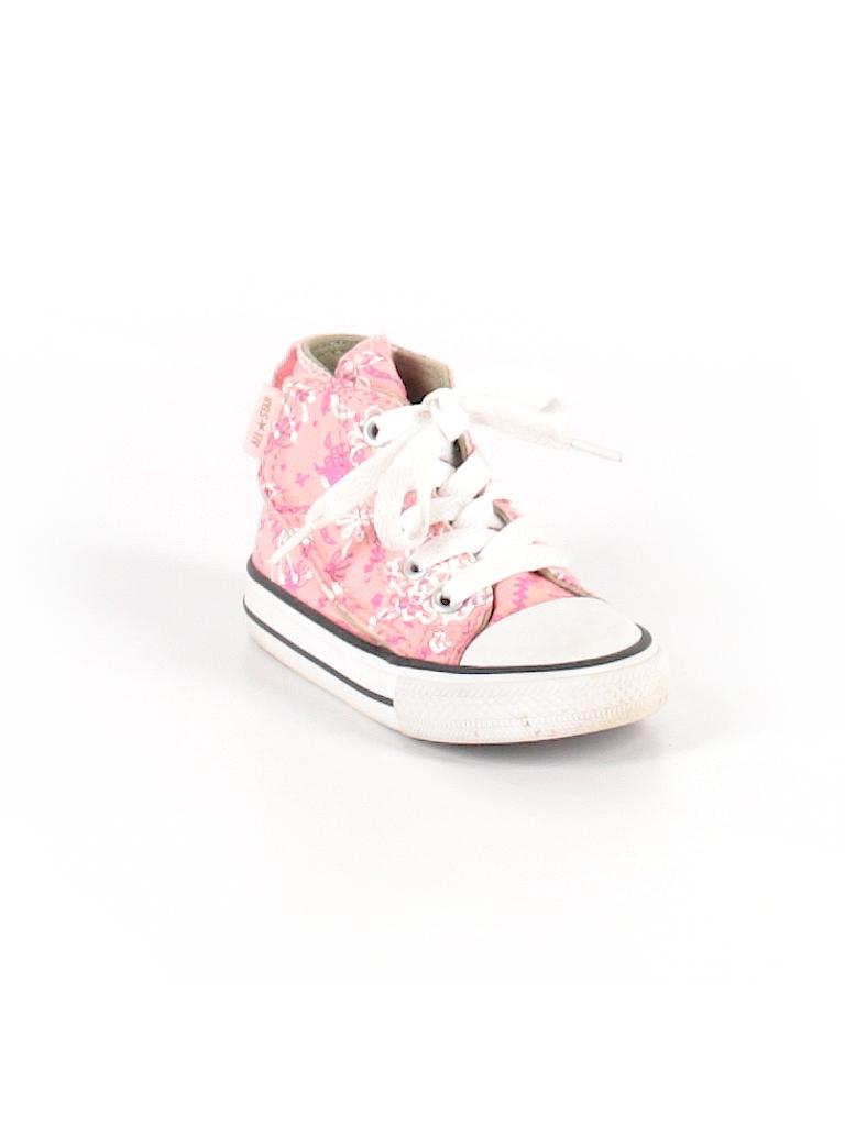 fd3b52f4b2b2a1 Converse Print Light Pink Sneakers Size 5 - 61% off