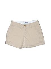 Old Navy Women Khaki Shorts Size 0