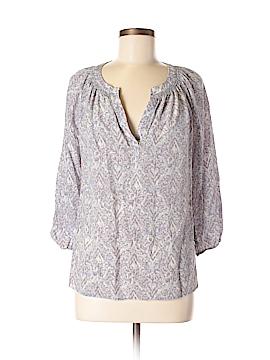 Max Studio 3/4 Sleeve Silk Top Size M