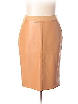 AKRIS Leather Skirt Size 4
