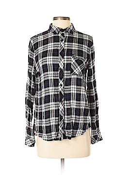 Le Lis Long Sleeve Button-Down Shirt Size S