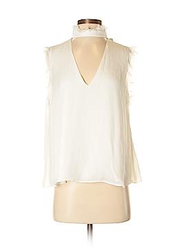 Alexis Sleeveless Silk Top Size M