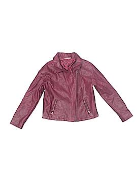 OshKosh B'gosh Faux Leather Jacket Size 5T