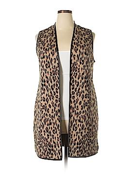 JM Collection Vest Size 1X (Plus)