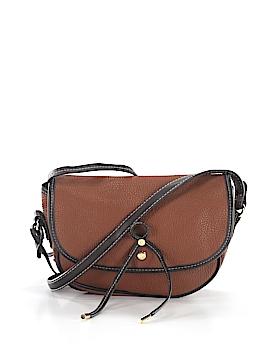 London Fog Leather Crossbody Bag One Size