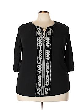 DressBarn 3/4 Sleeve Blouse Size 2X (Plus)