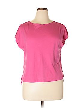 Blue Les Copains Short Sleeve T-Shirt Size 48 (EU)