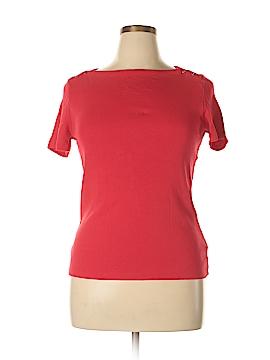 Rafaella Studio Short Sleeve Top Size L