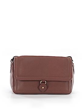 Brooks Brothers Leather Shoulder Bag One Size