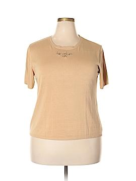 Draper's & Damon's Silk Pullover Sweater Size 1X (Plus)