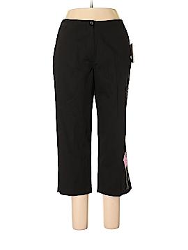 Larry Levine Casual Pants Size 12 (Petite)