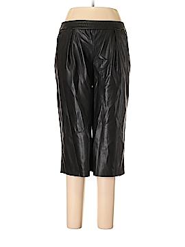 Zara Basic Faux Leather Pants Size S