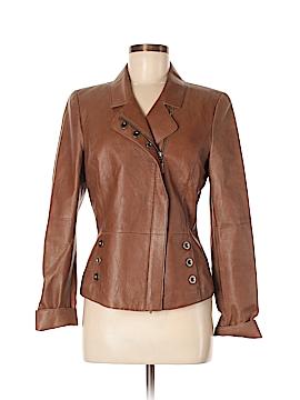 Worth New York Leather Jacket Size 8