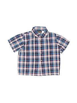 Okie Dokie Short Sleeve Button-Down Shirt Size 4T