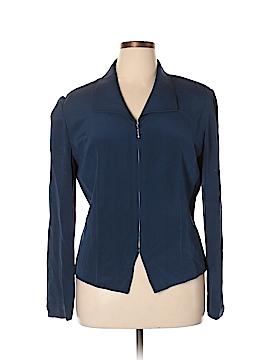 Maggy London Silk Blazer Size 16