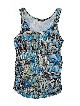 Emily Blu Sleeveless Blouse Size M