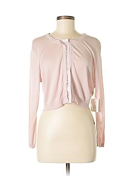 Suzi Chin for Maggy Boutique Silk Cardigan Size M