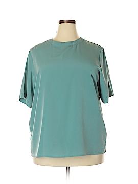 Worthington Short Sleeve Blouse Size 20 (Plus)