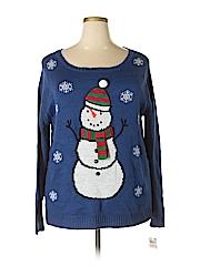 Karen Scott Women Pullover Sweater Size 3X (Plus)