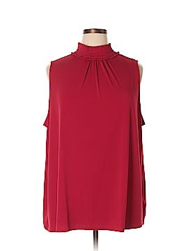Susan Graver Sleeveless Top Size 3X (Plus)