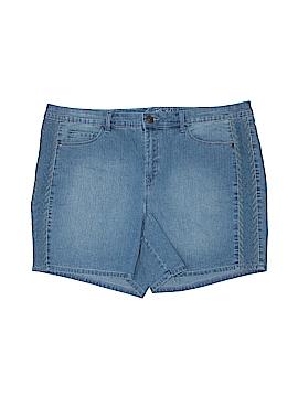 Gloria Vanderbilt Denim Shorts Size 16W