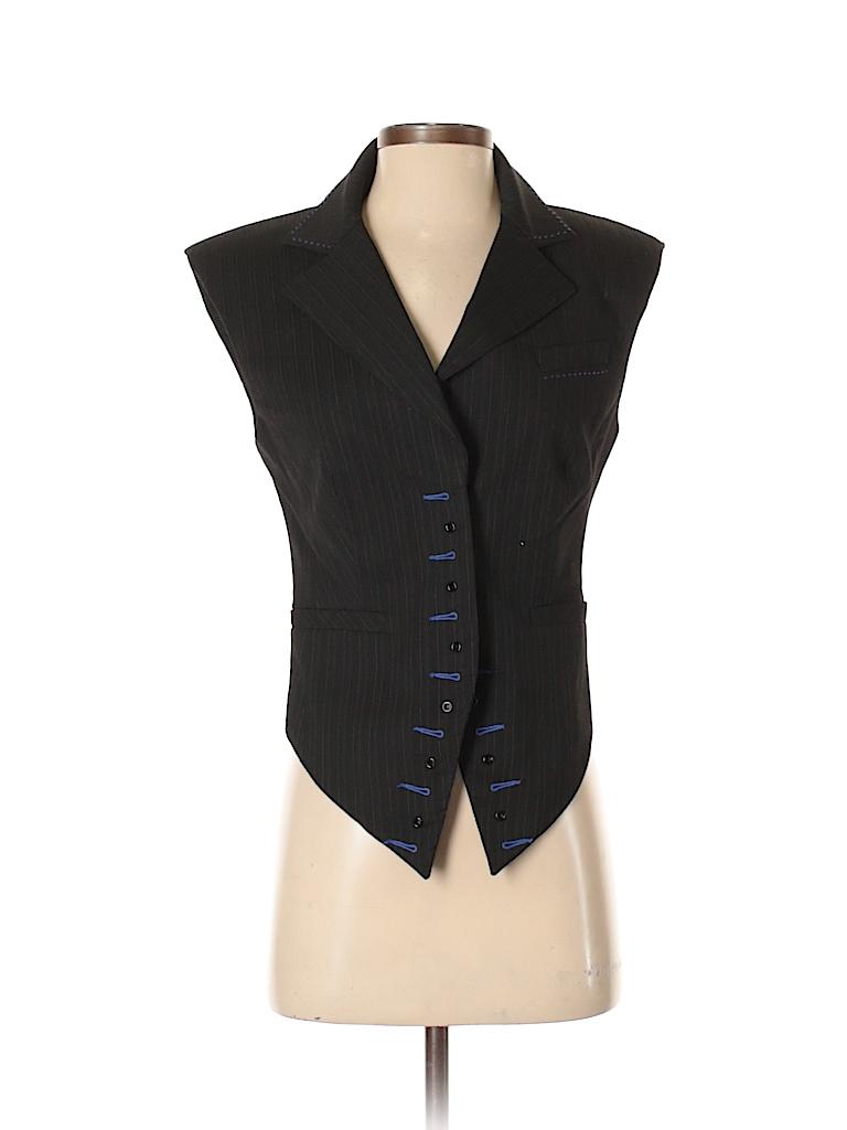 Bebe Women Tuxedo Vest Size S