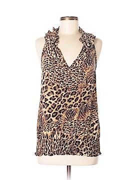 Karen Kane Sleeveless Silk Top Size M
