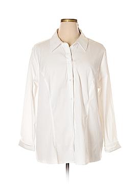Cj Banks Long Sleeve Blouse Size 3X (Plus)