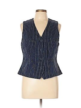 Lauren Jeans Co. Denim Vest Size L