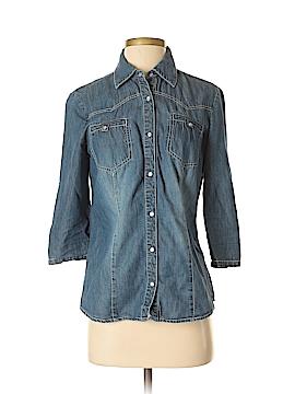 A.n.a. A New Approach 3/4 Sleeve Button-Down Shirt Size S