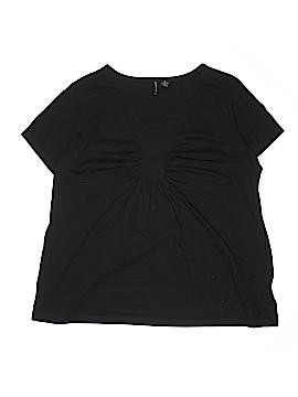 Jason Maxwell Short Sleeve Top Size 2X (Plus)