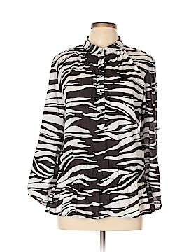 MICHAEL Michael Kors Long Sleeve Button-Down Shirt Size XL