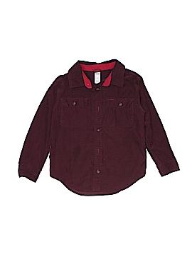 Tea Long Sleeve Button-Down Shirt Size 5