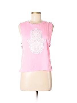 Wound Up Sleeveless T-Shirt Size M
