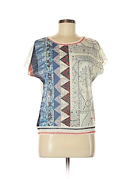 Desigual Short Sleeve Top Size M