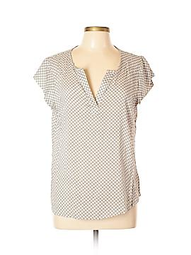 Anne Carson Short Sleeve Blouse Size L