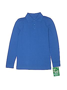 Classroom School Uniforms Long Sleeve Polo Size 7 - 8
