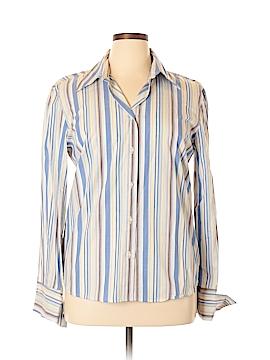 Harve Benard Long Sleeve Button-Down Shirt Size XL