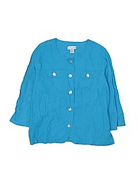 Hillard & Hanson Jacket Size 1X (Plus)